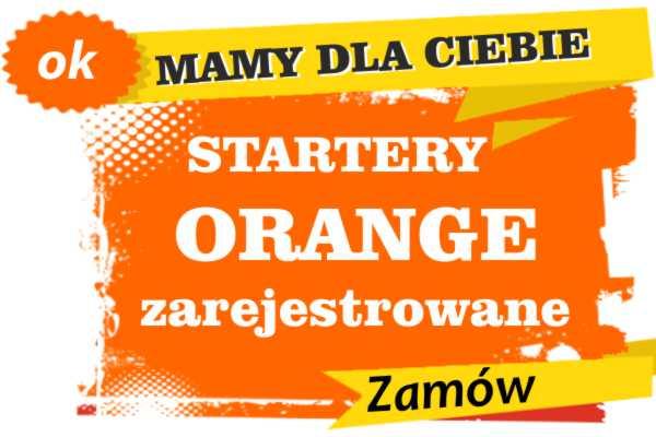 Sprzedam zarejestrowane karty sim orange Gorzów Śląski  zadzwoń 887 332 665